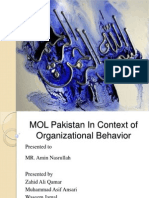 Report on Organizational Behavior
