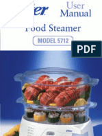 Oyster Steamer Instructions