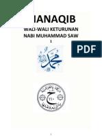 MANAQIB WALI-WALI KETURUNAN NABI MUHAMMAD SAW 1