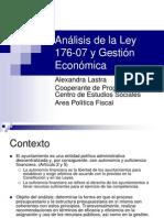Ley Municipal Alexandra Lastra