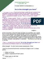 GIDEON - Strength in Weakness (1)