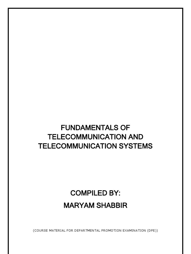 Fundamentals Of Telecommunications Computer Network Inductors 101 Electronic Products Telecommunication