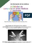 3 JORNADA NOVIEMBRE .CONVIHVE 2012. Habilidades de comunicación entre médicos y  pacientes