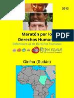 Maratón por los DDHH 2012 - CCSS
