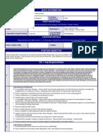 JD Manager Internal Audit