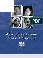 Affirmative Action Global Perspective