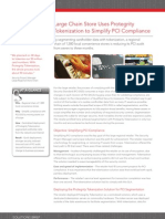 Protegrity Solutions Brief Tokenization to Simplify PCI Compliance