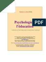 Le Bon, Gustave - Psychologie de l'Education [1910]