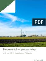 Fundamentals of Process Safety Malaysia 2011