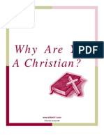Why Are You a Christian