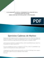 Ejercicios Cadenas de Markov