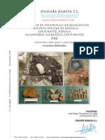 FERRERÍA BENGOLA Informe Inventario Materiales