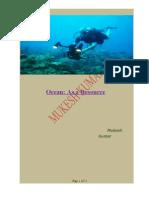 Ocean as a Resource