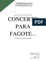 Concert for Basson- W.a.mozart_ Trabalho HCA2012-2013