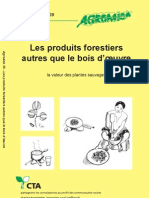 eBook Agrodok39 Les Produits Forestiers Autres Que Le Bois d Oeuvre La Valeur Des Plantes Sauvages
