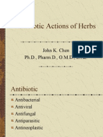 040_Antibiotic Actions of Herbs