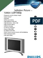 Philips Flat TV 15PF9936 - Leaflet