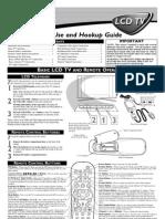 Philips Flat TV 15PF9936 - Quick Start Guide