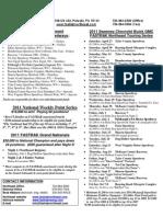 2011 Information Sheet