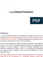 Distributed Database(1)