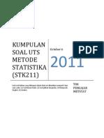 Kumpulan Soal Uts Peluang Metode Statistika Ipb