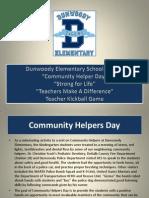 Dunwoody Elementary Events