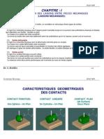 CHAPITRE 1 - Liaisons Mécaniques