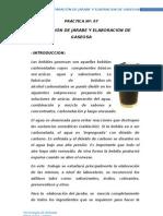 PRÁCTICANº 07 PREPARACION DE JARABE Y ELABORACION DE GASEOSA