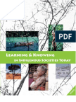 22926269 Learning and Knowing in Indigenous Societies