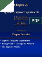 Tagichi Methods