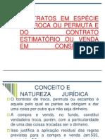 5 Aula-contratos Em Especie-da Troca e Do Contrato Estimatorio