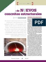 Construcción y Tecnología.El Uso de Nuevos Concretos Estructurales