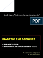 Hypoglycemia & HHS - Sadiq and Sudeeepta