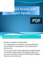 All About Analog and Digital Signals
