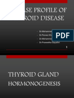 Physiology of Thyroid Hormones