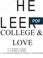 The Leek- College and Love