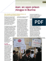 Open Prison for the Rohingya in Burma