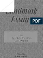 Essays on Bakhtin