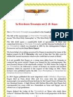 La Tres Sainte Trinosophie & Ragon - Scribd En
