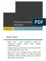 5 Static Dynamic Routing