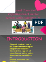 organization for the disabled