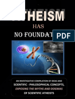 Atheism Has NO Foundation.