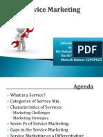 SecA Group5 Service Marketing Rev 3