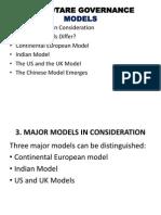 Corporate Governance Models Around the World