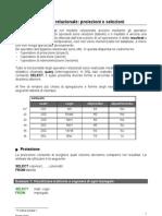 SQL m4 Proiezioni-Selezioni