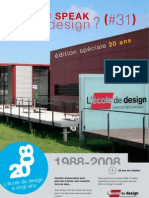 DO YOU SPEAK good design #31 - L'École de design Nantes Atlantique a 20 Ans