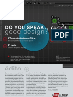 DO YOU SPEAK good design #32 - L'École de design Nantes Atlantique