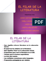 EL PILAR DE LA LITERATURA