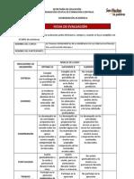 Ficha de Evaluacion Cfc