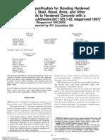 ACI 503.1-503.4 (R2003) Four Epoxy Standards
